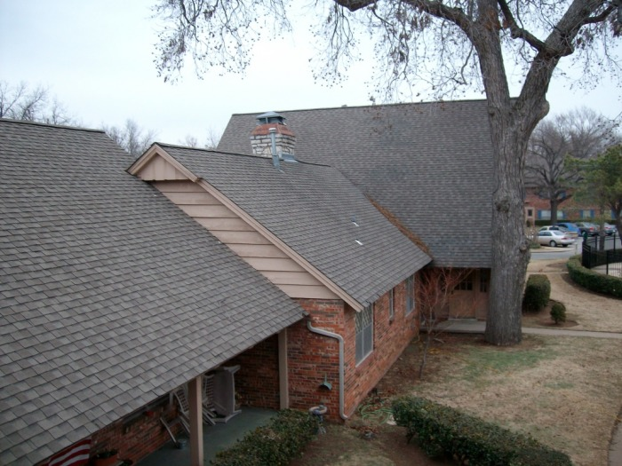 The Chalet Apartments - Roofing - Gutter Repair ...